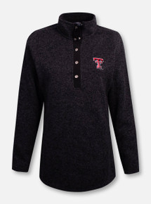 "Charles River Texas Tech Red Raiders ""Hingham Tunic"" Fleece Sweater"