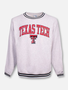 "Champion Texas Tech Red Raiders ""Ivy League"" Reverse Weave Crew Sweatshirt"
