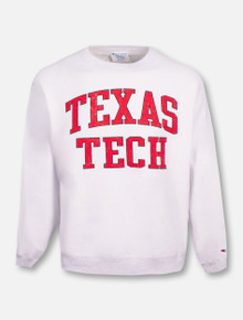 "Champion Texas Tech Red Raiders ""Inside Out"" Reverse Weave Crew Sweatshirt"