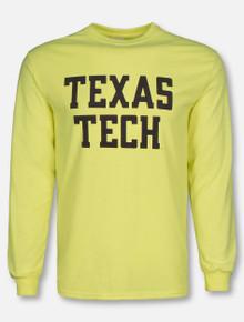Texas Tech Red Raiders Stack Long Sleeve Shirt