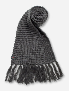 The Game Texas Tech Small Double T Charcoal Scarf