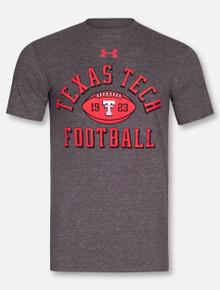 "Under Armour Texas Tech Red Raiders Legacy ""Established Football"" Triblend Short Sleeve T-Shirt"