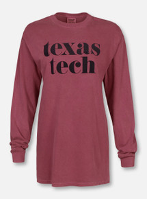 "Texas Tech Red Raiders ""Pristine"" Long Sleeve T-Shirt"