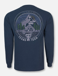 "Texas Tech Red Raiders ""Road Less Traveled"" Long Sleeve T-Shirt"