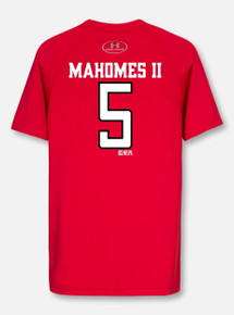 Under Armour Texas Tech Football Performance Mahomes YOUTH Short Sleeve T-Shirt