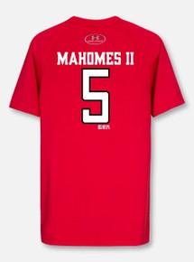 48f03ecebf1206 Under Armour Texas Tech Football Performance Mahomes YOUTH Short Sleeve  T-Shirt