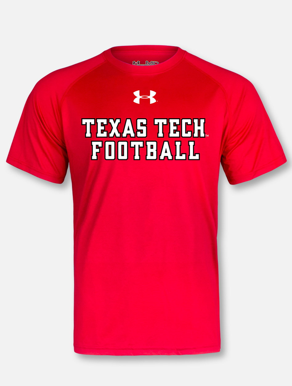 a43efda25 Under Armour Texas Tech Red Raiders Mahomes Football Stack ...