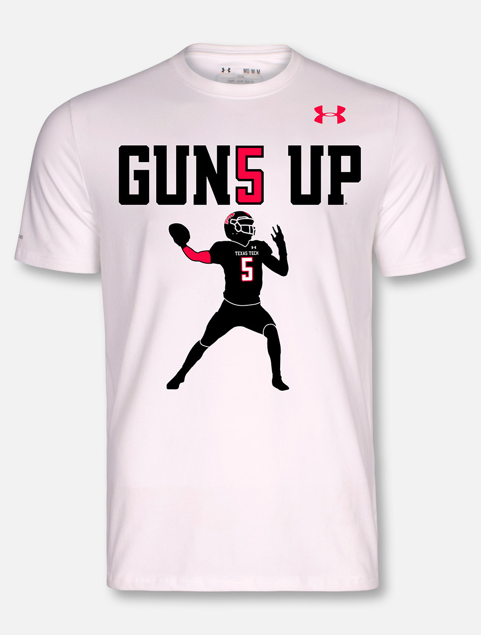 Under Armour Texas Tech Red Raiders Mahomes Guns Up Short ... fba4c0924