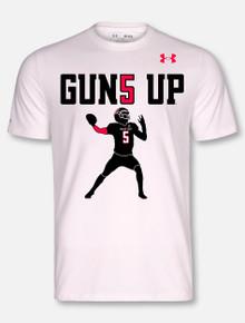 Under Armour Texas Tech Red Raiders Mahomes Guns Up Short Sleeve T-Shirt