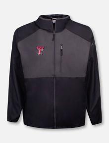 "Columbia Tech Red Raiders Double T ""Flash Forward"" Wind Breaker Jacket"