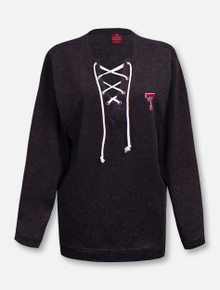 Texas Tech Red Raiders Double SideSlip Lace Up Pullover
