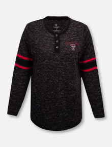 Texas Tech Red Raiders Stag Leap Long Sleeve Henley