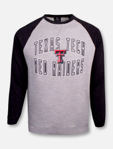 "Texas Tech Red Raiders Double T ""Cross Country"" Crew Neck Fleece Sweater"