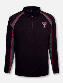 "Texas Tech Red Raiders Double T ""Snowboard"" Quarter Zip Wind Pullover"