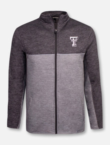 "Texas Tech Red Raiders Double T ""Banked"" Full Zip Fleece Jacket"