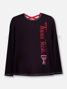 """Texas Tech Red Raiders Double T """"Camber"""" YOUTH Long Sleeve T-Shirt"""
