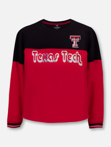 "Texas Tech Red Raiders Double T ""Choctaw"" YOUTH Long Sleeve T-Shirt"