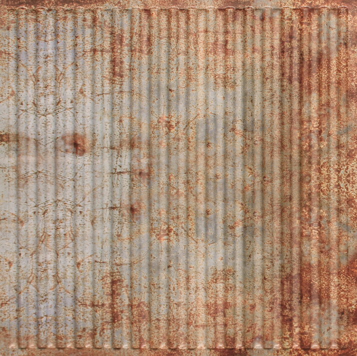 Faux Old Tin Roof Pvc Decorative Ceiling Tile 2 X 2 261 Drop In