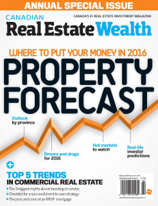 2016 Canadian Real Estate Wealth January issue (available for immediate download)