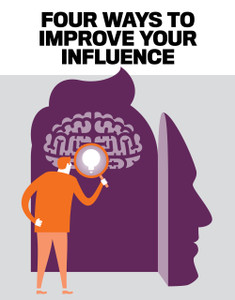 FOUR WAYS TO IMPROVE YOUR INFLUENCE (available for immediate download)