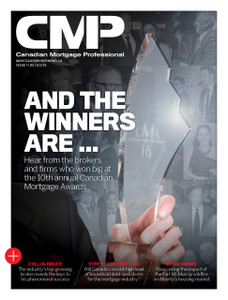 2016 Canadian Mortgage Professional May issue (available for immediate download)