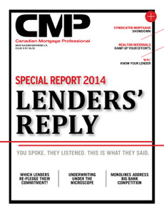 2014 Canadian Mortgage Professional October issue (available for immediate download)