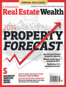 2014 Canadian Real Estate Wealth January issue (available for immediate download)