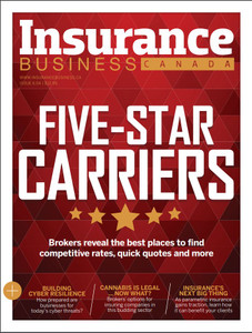 2018 Insurance Business 6.04 issue (available for immediate download)