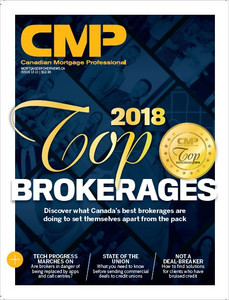 2018 Canadian Mortgage Professional October  issue (available for immediate download)