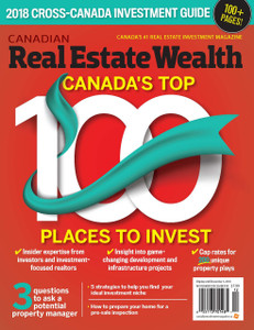 2018 Canadian Real Estate Wealth November  issue (available for immediate download)