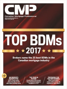 2017 Canadian Mortgage Professional December issue (available for immediate download)