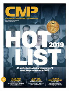 2019 Canadian Mortgage Professional January issue (available for immediate download)