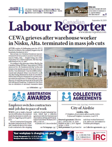 •	48 digital issues of Canadian Labour Reporter delivered right to your inbox  •	Full access to labour-reporter.com, featuring a searchable archive of past articles, collective agreements and more   •	Full access to the Canadian Labour Reporter digital issues and archives dating back to January 2014