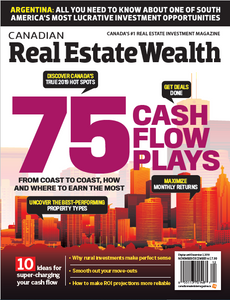 2019 Canadian Real Estate Wealth Nov/Dec issue (available for immediate download)