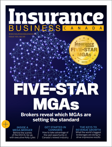 2019 Insurance Business 7.05 issue (available for immediate download)