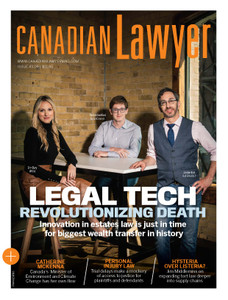 2019 Canadian Lawyer 43.09 (available for immediate download)