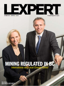 2019 Lexpert Magazine 20.10 (available for immediate download)