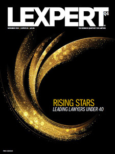 2019 Lexpert Magazine 20.11 (available for immediate download)