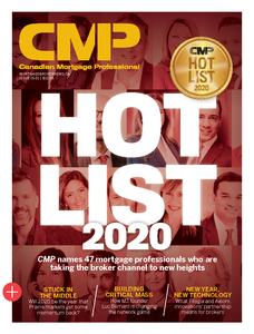 2020 Canadian Mortgage Professional January issue (available for immediate download)