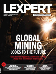 2020 Lexpert Special Edition on Mining (available for immediate download)