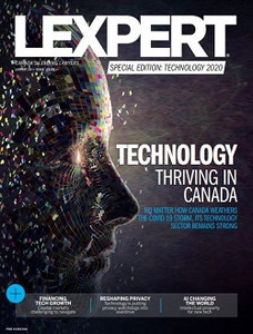 2020 Lexpert Special Edition on Technology (available for immediate download)