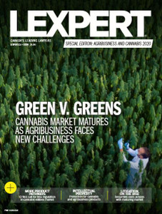2020 Lexpert Special Edition on Agribusiness and Cannabis (available for immediate download)