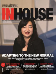 2020 Canadian Lawyer InHouse 15.03 (available for immediate download)