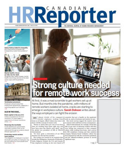 2020 Canadian HR Reporter 33.09 (available for immediate download)
