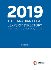 2019 The Canadian Legal Lexpert Directory