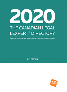 2020 The Canadian Legal Lexpert Directory