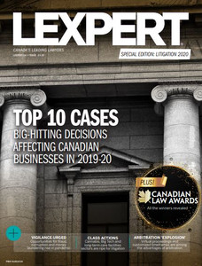 2020 Lexpert Special Edition on Litigation (available for immediate download)