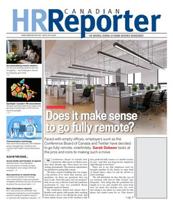 2020 Canadian HR Reporter 33.12 (available for immediate download)