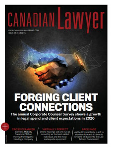 2021 Canadian Lawyer 45.01 (available for immediate download)
