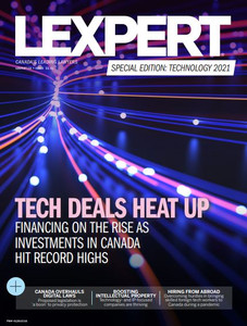 2021 Lexpert Special Edition on Technology (available for immediate download)
